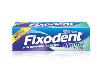 Fixodent Neutral denture adhesive