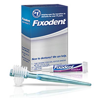 Fixodent Denture Wearer Orientation Kit