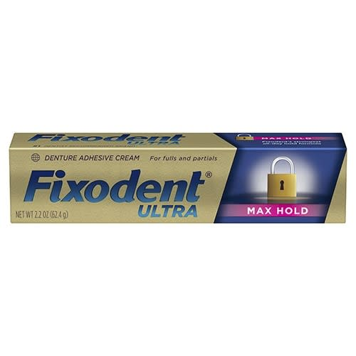 Fixodent Ultra Max Hold Adhesive