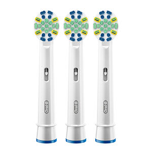 Oral B 174 Flossaction Brush Head With Bacteria Guard Bristles
