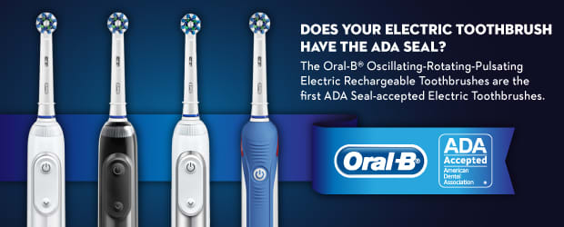 Does your electric toothbrush have the ADA seal?