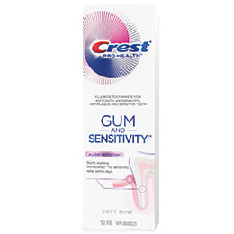 Gum and sensitivity toothpaste