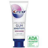 Crest Gum and Sensitivity Toothpaste-ADA Approved