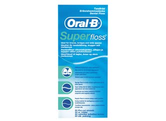 oral b super floss, profesional del cuidado dental, seda dental