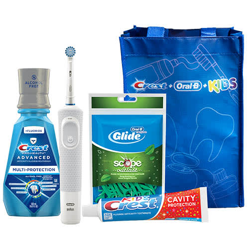 Crest + Oral-B Kids Electric Rechargeable System