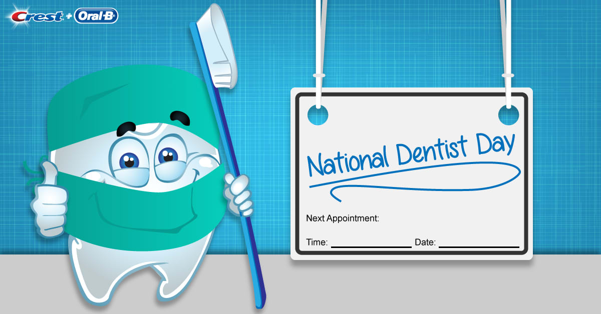 National Dentist Day 2017 tooth