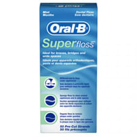 Oral-B Superfloss Office Pack Mint