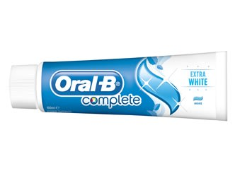 Oral-B Complete Extra White whitening toothpaste