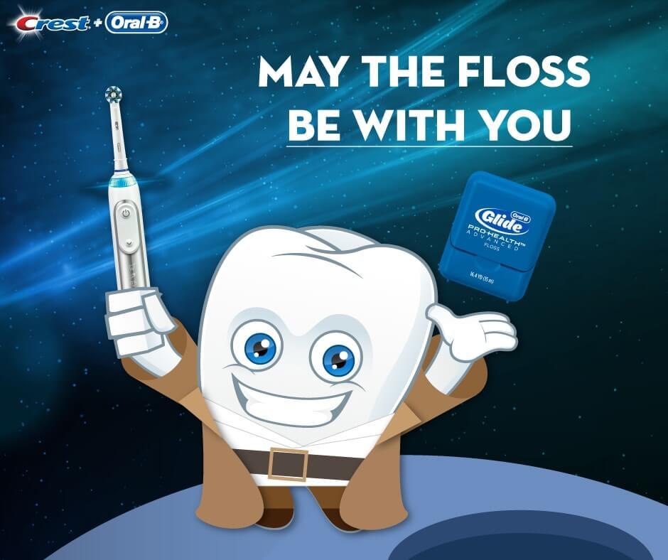 May the floss be with you!