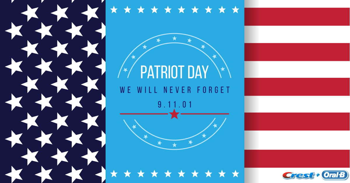 Patriot Day 2017 red white blue