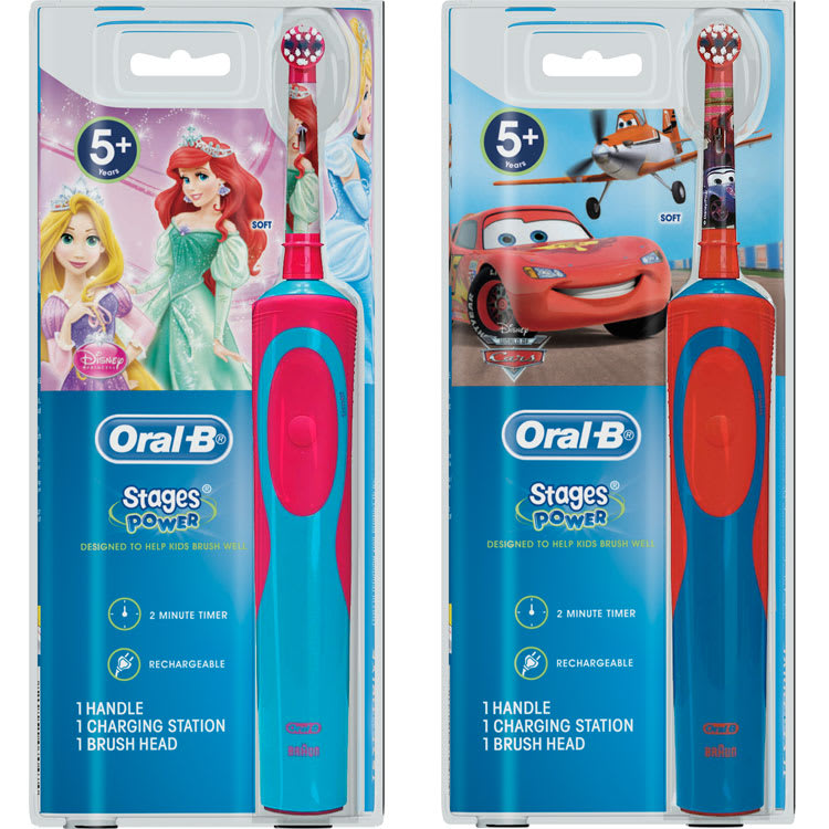 Oral-B Stages Power (Cars) kids electric toothbrush