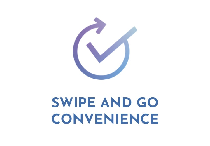 Swipe and Go Convenience