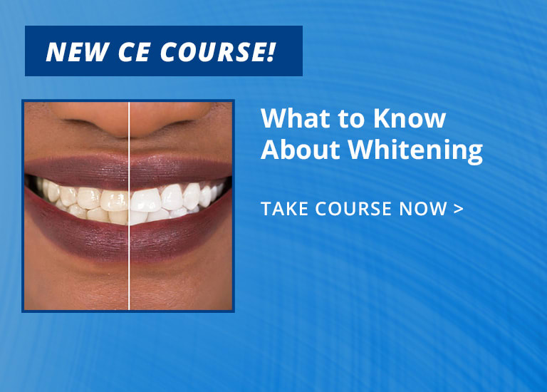 New CE - What to Know About Whitening (ce491)