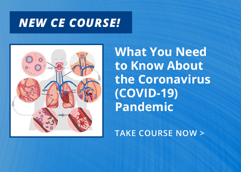 New CE Course - The Dry Mouth Epidemic - It's More than Medications, Aging and Degenerative Diseases (ce595)