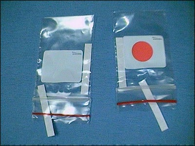 Image: PROP strip with control strip.