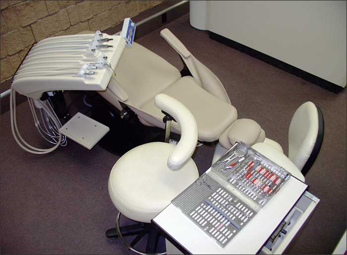 dental treatment room setup