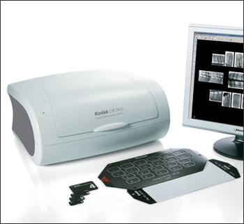 Photograph showing an Indirect Photo-stimulable Phosphor Imaging System.