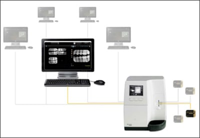 Photograph showing Digital Imaging Hardware and Software.