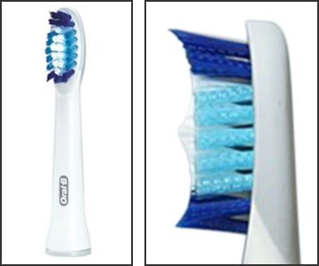 Photo showing Oral-B Pulsonic brush head