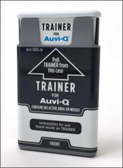 Photo showing AUVI-Q Trainer
