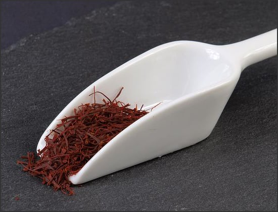 Photograph showing saffron