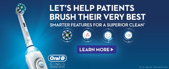 ORAL-B GENIUS 9000 ELECTRIC TOOTHBRUSH WITH BLUETOOTH® TECHNOLOGY