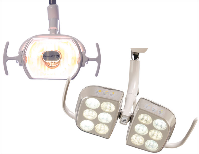 LED light with criteria for an ergonomically acceptable light.