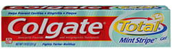 Image: Colgate Total: An antigingivitis dentifrice approved through an NDA.