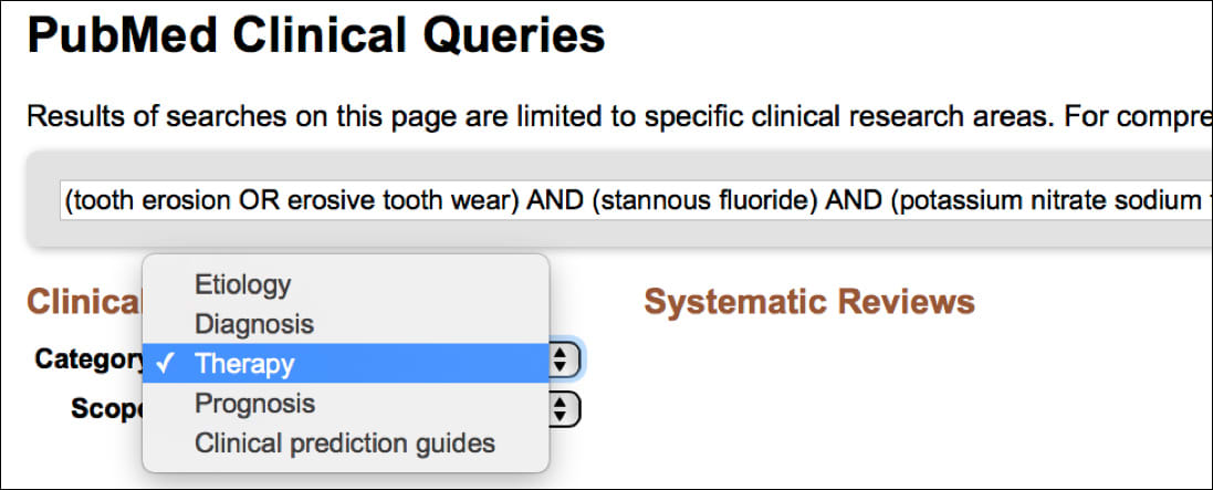 Image: Type of Question/Category