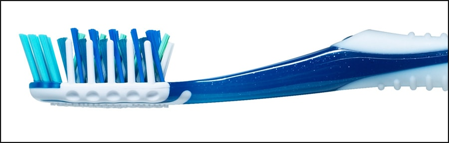 Photo showing a toothbrush.