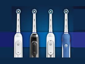 Oral-B Elecric Toothbrush Lineup