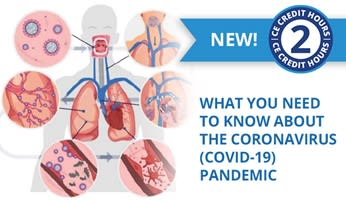 New CE Course - What You Need to Know About the Coronavirus (COVID-19) Pandemic (ce652)