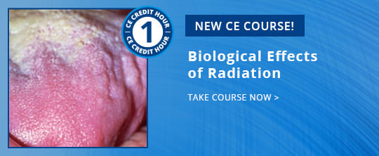 New CE Course - CE572 Biological Effects of Radiation