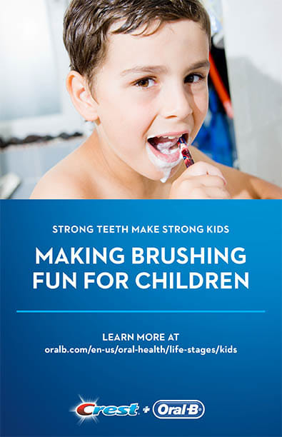 Making Brushing Fun For Children
