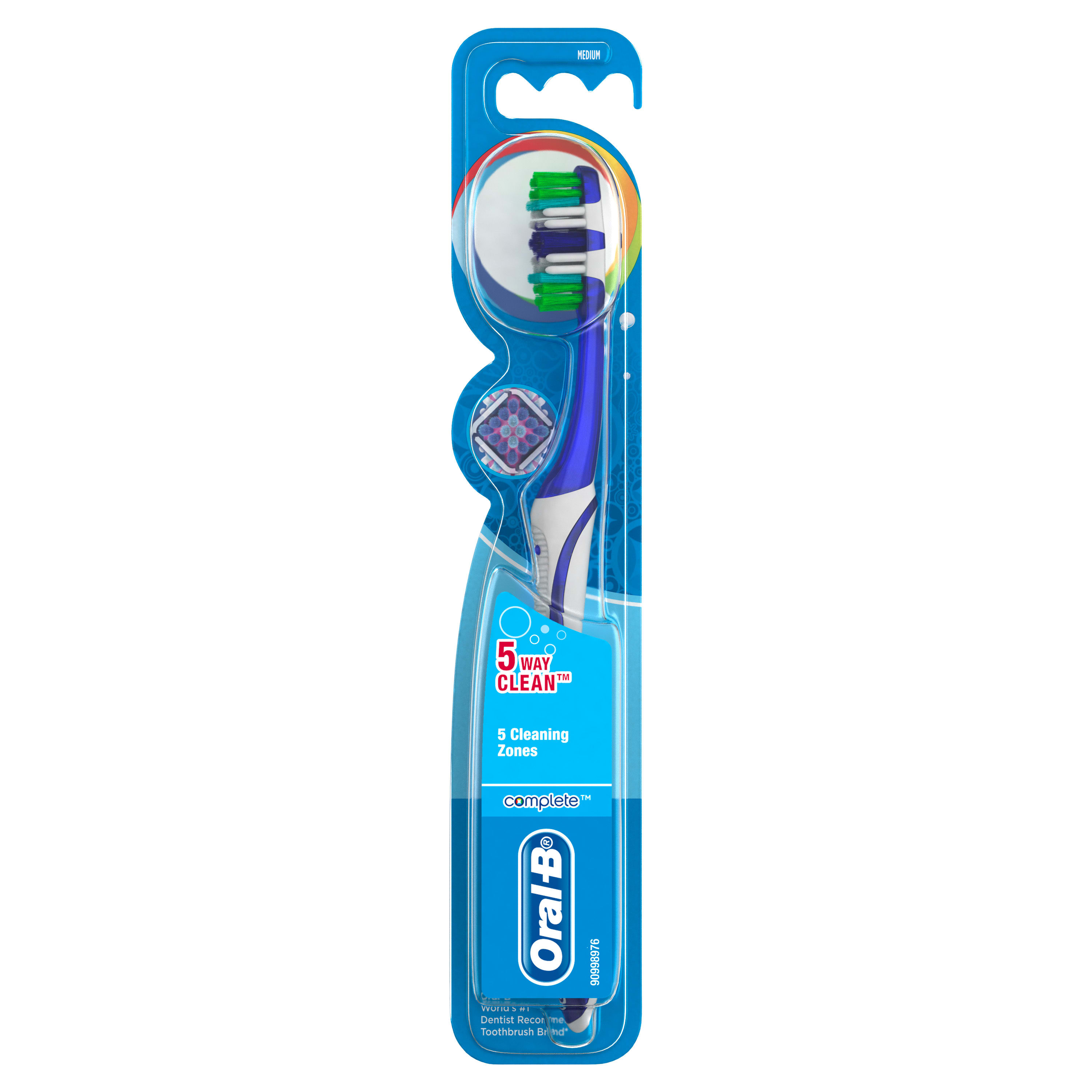 Oral B Complete 5-Way Clean Toothbrush