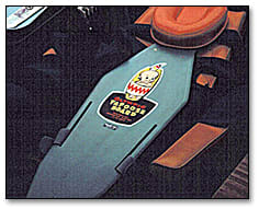 Image: Child restraining device (Papoose Board).