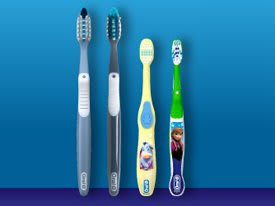 Oral-B Manual Toothbrush Lineup