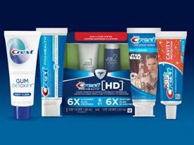 Crest Toothpaste Lineup