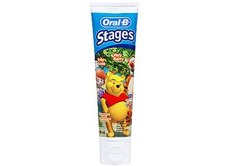 oral b stages my friend tiger and pooh, dental care professional, toothpaste