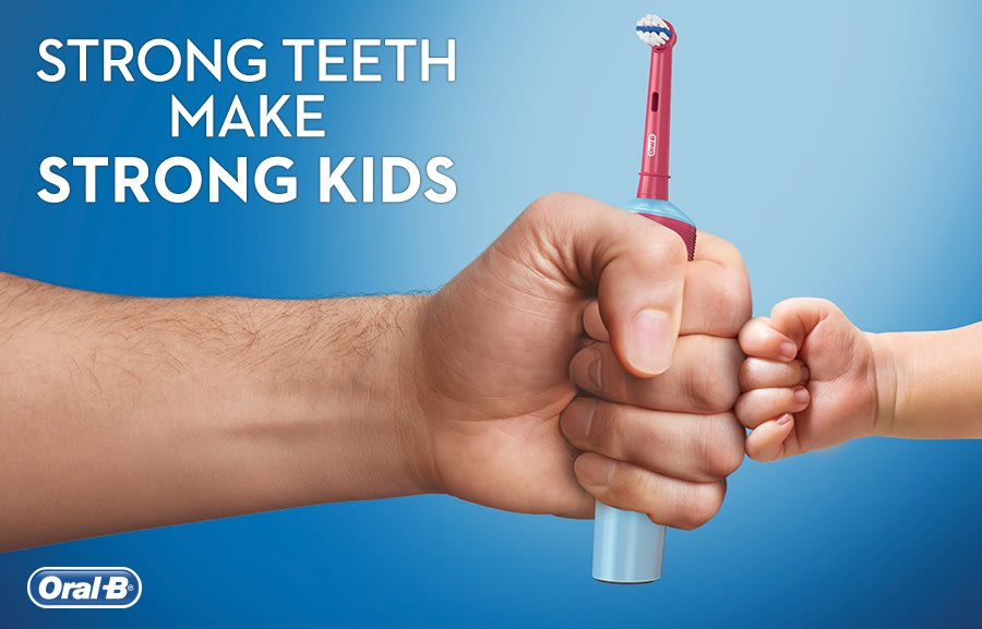 Oral-B Strong Teeth Make Strong Kids