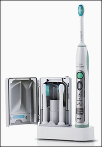 Image showing Sonicare power toothbrush.