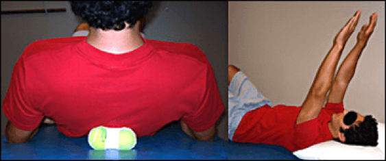 Image of thoracic mobilization.