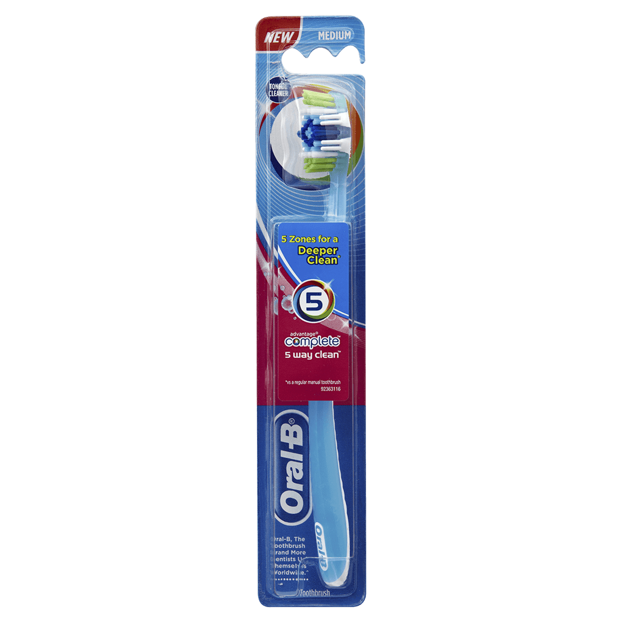 Oral B Advantage Complete 5-Way Clean Toothbrush