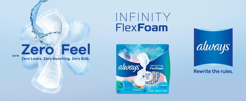 ALWAYS Infinity Foam Pads