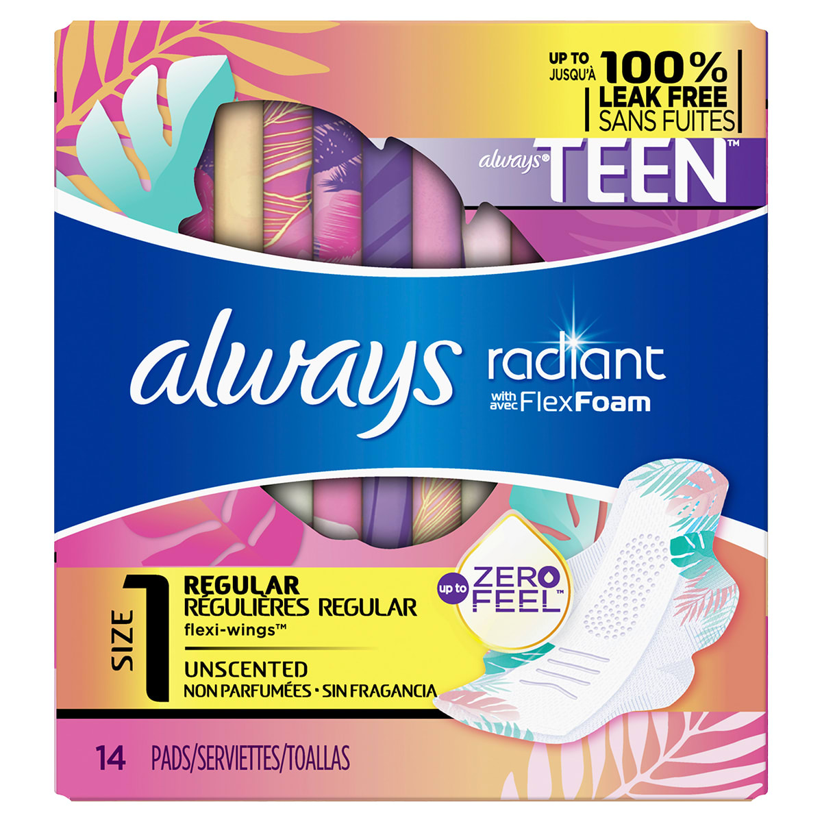 Radiant Teen Size 1 14ct