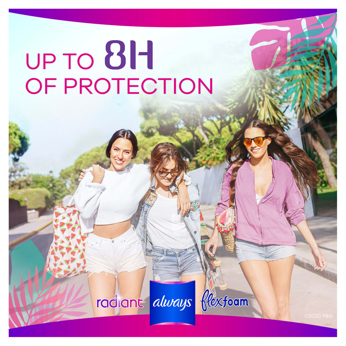 Up to 8 hours of protection