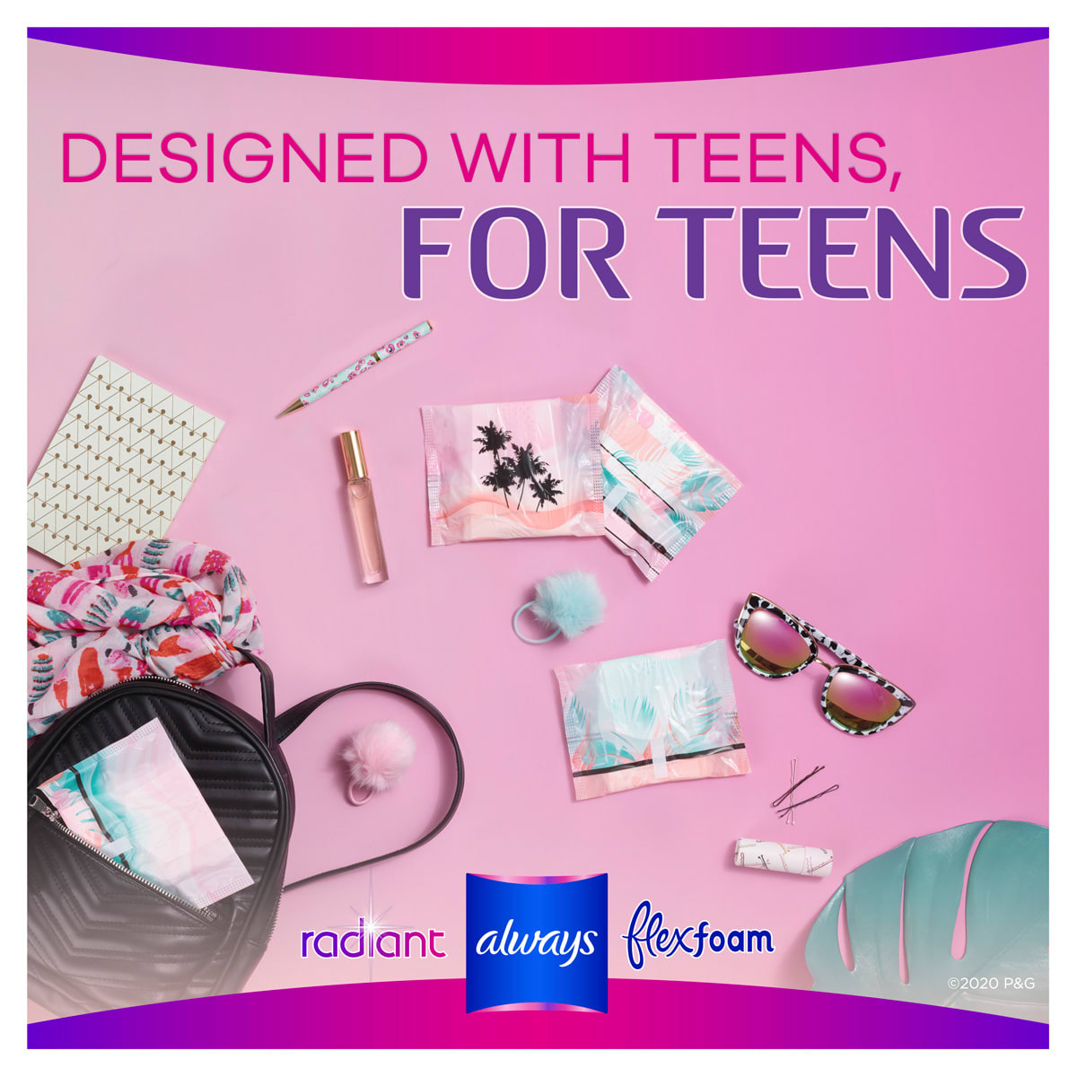 Designed with teens. For teens.