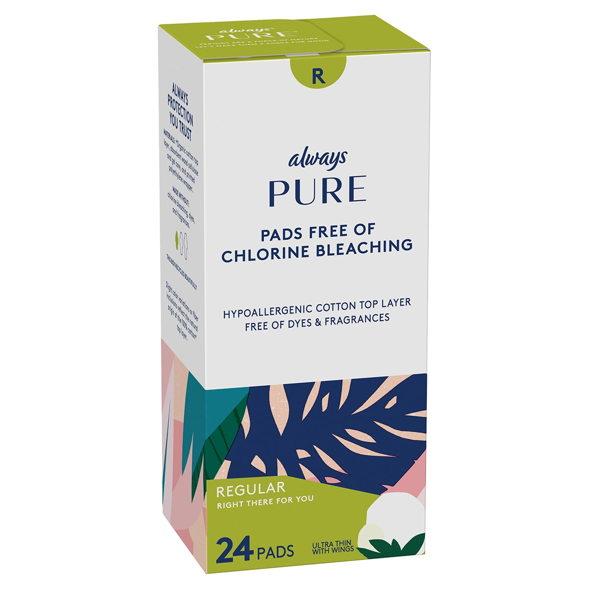 Always Pure Regular Pads 24ct