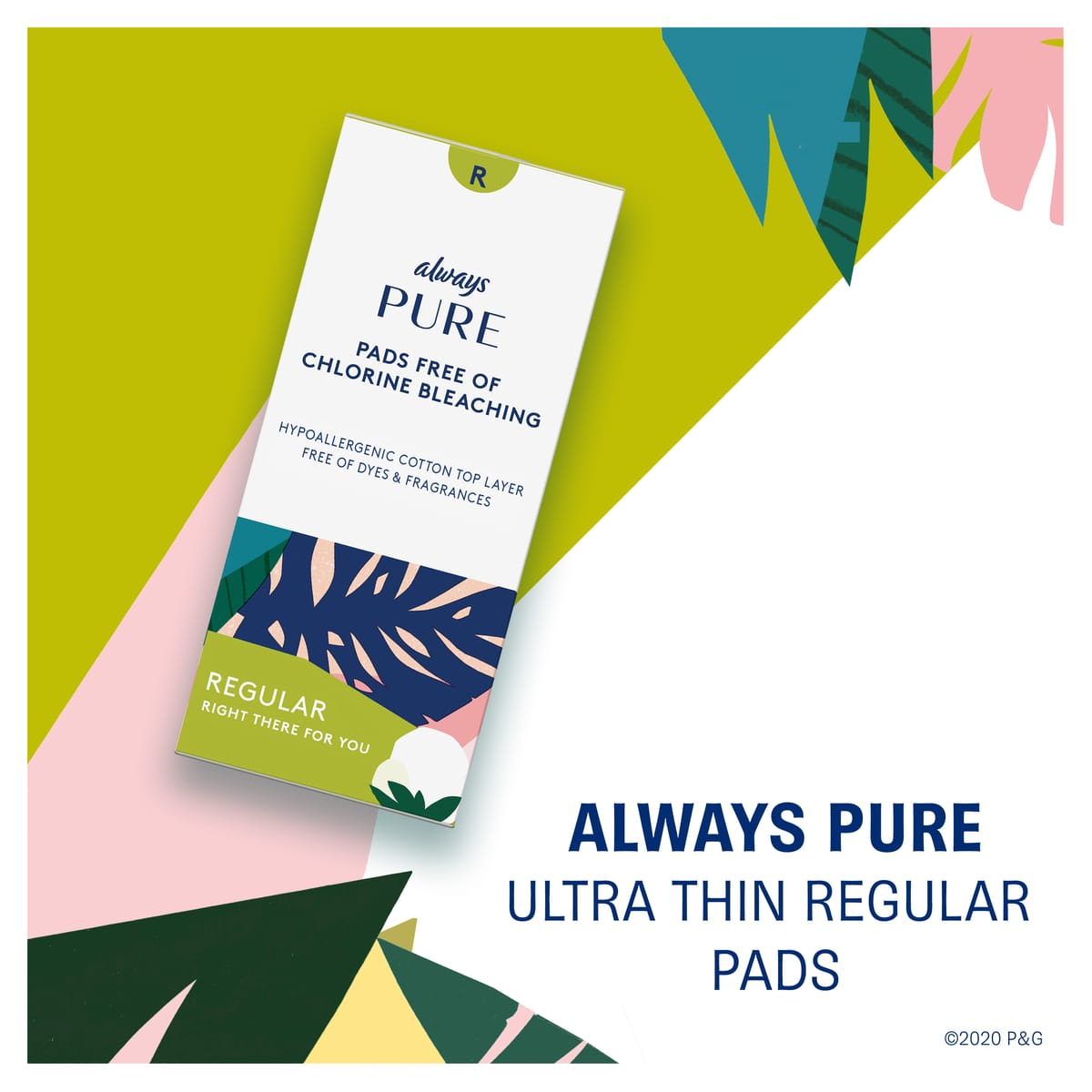 Always Pure Ultra Thin Regular Pads