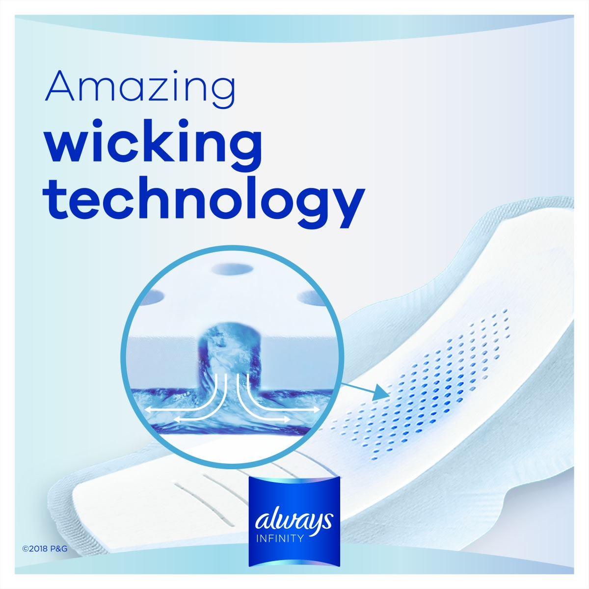 Always Infinity Regular Sanitary Pads